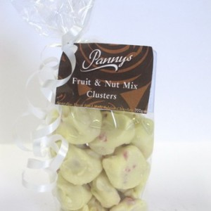 White Fruit & Nut Cluster 200g
