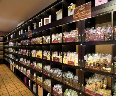 Chocolate retail shop