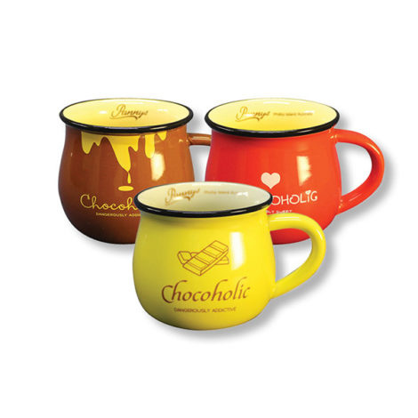 Medium Chocoholic Mugs
